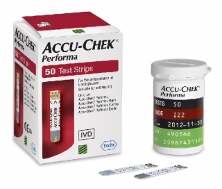 Тест-полоски Accu-Check Performa №50 (Акку-Чек Перформа)