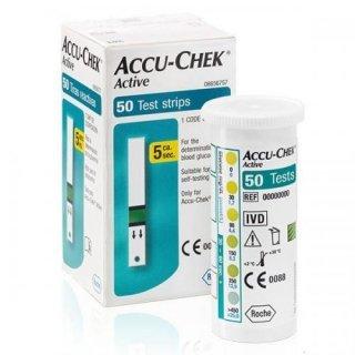 Тест-полоски Accu-Chek Active №50 (Акку-Чек Актив)