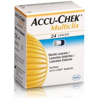 Ланцеты Accu-Chek MultiClix №24
