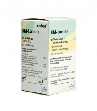 Тест-полоски ACCUTREND (Аккутренд) BM-Lactate №25