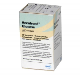 Тест-полоски ACCUTREND (Аккутренд) глюкоза №25