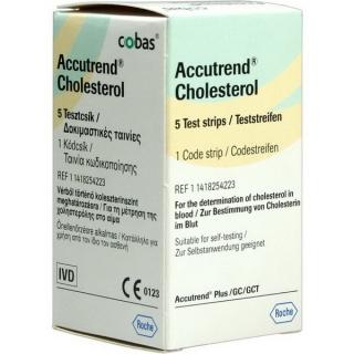 Тест-полоски ACCUTREND (Аккутренд) холестерин №25