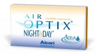 Контактные линзы AIR OPTIX NIGHT&DAY AQUA (6 бл/уп)