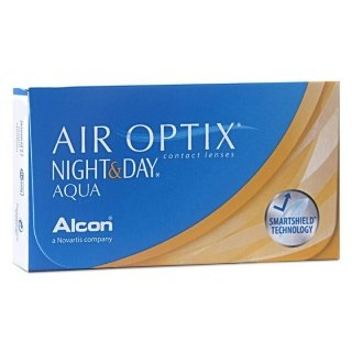 Контактные линзы AIR OPTIX NIGHT&DAY AQUA (3шт)