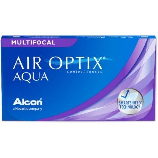 Контактные линзы AIR OPTIX AQUA MULTIFOCAL (3+1) АКЦИЯ