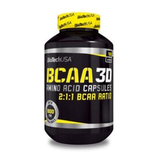 Аминокислоты BT BCAA 3D 180 капсул
