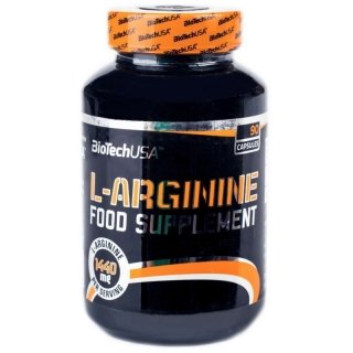 Аминокислоты BT L-Arginine 90 капсул