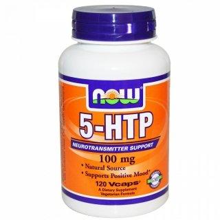 Аминокислоты NOW 5-HTP 100мг 120 капсул