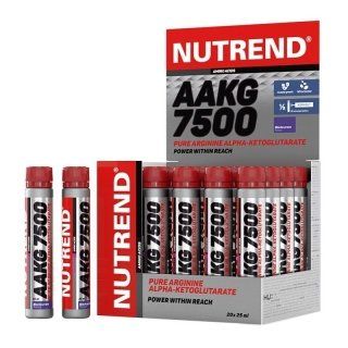 Аминокислоты NUTREND AAKG 7500 20х25мл