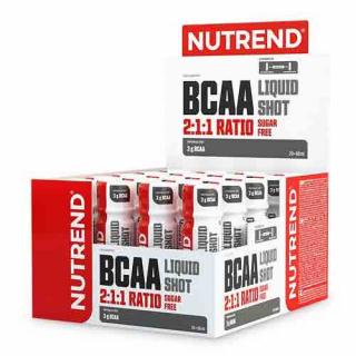 Аминокислоты NUTREND BCAA Liquid Shot 20x60мл