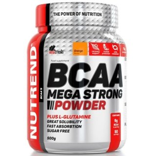 Аминокислоты NUTREND BCAA Mega Strong Powder 500гр