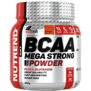Аминокислоты NUTREND BCAA Mega Strong Powder 300гр