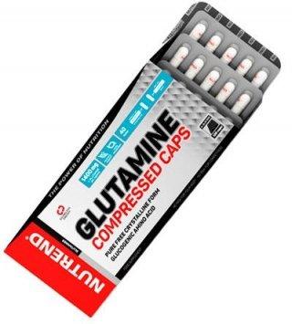Аминокислоты NUTREND Glutamine Compressed Caps 120 капсул
