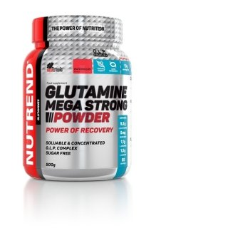 Аминокислоты NUTREND Glutamine Mega Strong Powder 500гр