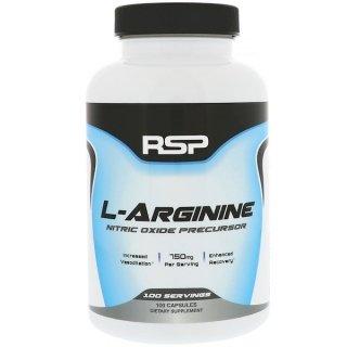 Аминокислоты RSP L-ARGININE 100 капсул