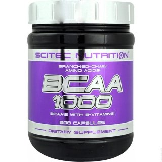 Аминокислоты SN BCAA 1000 100 капсул