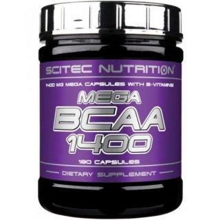 Аминокислоты SN Mega BCAA 1400 180 капсул