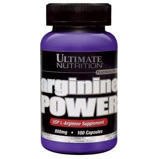 Аминокислоты UltN Arginine power 100 капсул