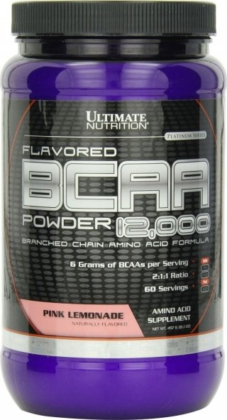 Аминокислоты UltN BCAA powder 12000 Flavored 228гр
