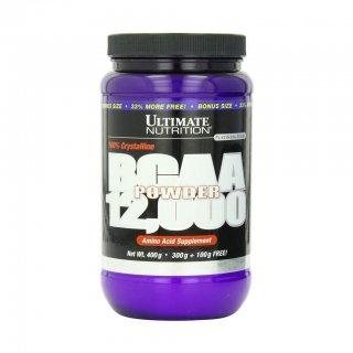 Аминокислоты UltN BCAA powder 12000 400гр