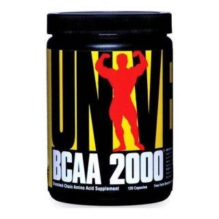 Аминокислоты UN BCAA 2000 120 капсул