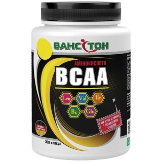 Аминокислоты Ванситон BCAA 300 капсул