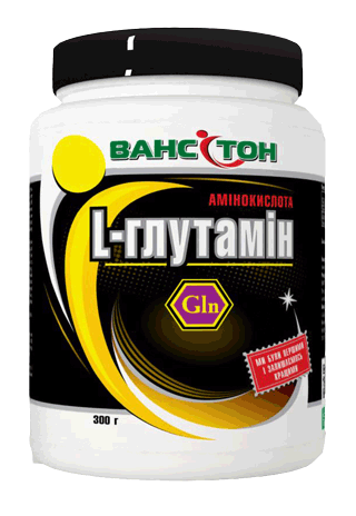 Аминокислоты Ванситон L-глютамин 300 капсул