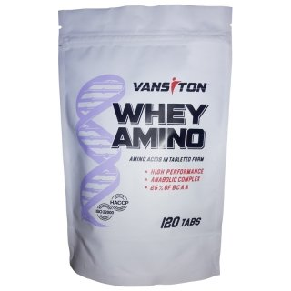 Аминокислоты Ванситон WHEY AMINO 120 таблеток