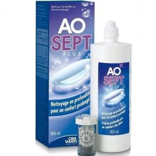 Раствор для линз AOSEPT PLUS HydraGlade 360мл