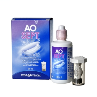 Раствор для линз AOSEPT PLUS HydraGlade 90мл