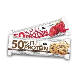 Белковый батончик QNT 50% Full Protein Bar 12х50гр