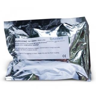 Бинт с оксидом цинка эластичный 10смх5м
