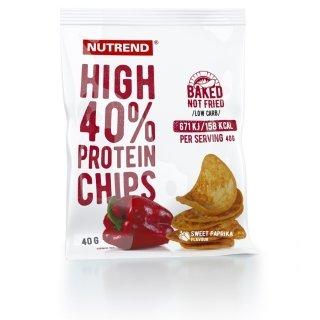 Чипсы NUTREND High Protein Chips 6х40г