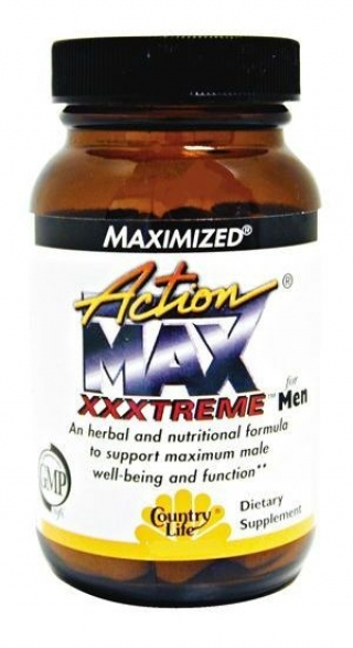 COUNTRY LIFE ACTION MAX XXXTREME FOR MEN 60 таблеток