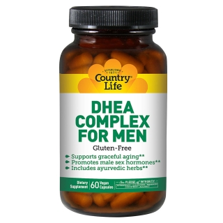 COUNTRY LIFE DHEA COMPLEX FOR MEN 60 капсул