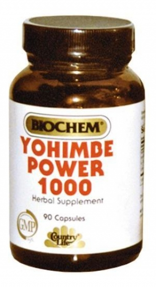 COUNTRY LIFE YOHIMBE POWER 90 капсул