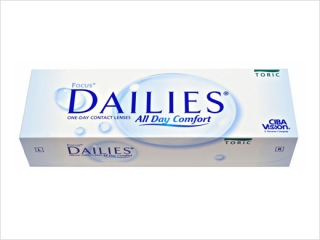 Контактные линзы FOCUS DAILIES ALL DAY COMFORT TORIC (30 бл./уп.)