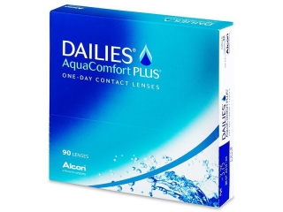 Контактные линзы FOCUS DAILIES AQUA COMFORT PLUS (90шт)