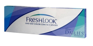 Контактные линзы FRESHLOOK ONE DAY