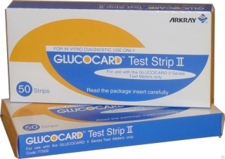 Тест-полоски Glucocard (Глюкокард) Test Strip II - 50 шт