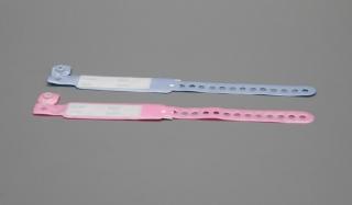 Идентификационный браслет (для матери-размер L, для новорожд.-размер S)