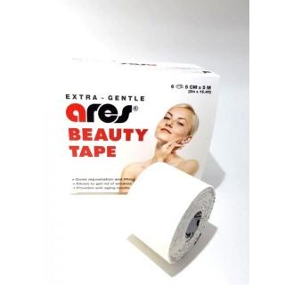 Кинезиологический тейп для лица Ares Beauty Tape 5смх5м