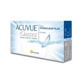 Контактные линзы ACUVUE® OASYS with HYDRACLEAR® Plus