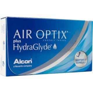 Контактные линзы AIR OPTIX plus HYDRAGLYDE (3+1) АКЦИЯ