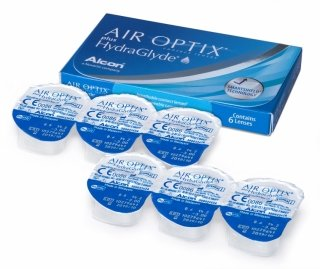 Контактные линзы AIR OPTIX plus HYDRAGLYDE (3шт)