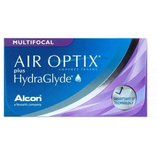 Контактные линзы AIR OPTIX plus HYDRAGLYDE MULTIFOCAL (3+1) АКЦИЯ