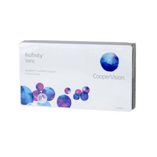 Контактные линзы Biofinity Toric (3шт)