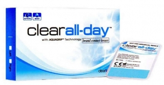 Контактные линзы Clear All-day (6шт)