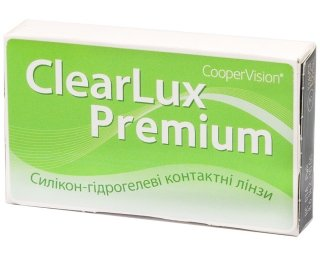 Контактные линзы CLEARLUX Premium (3шт)