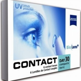 Контактные линзы Contact Day 30 Compatic Bio toric